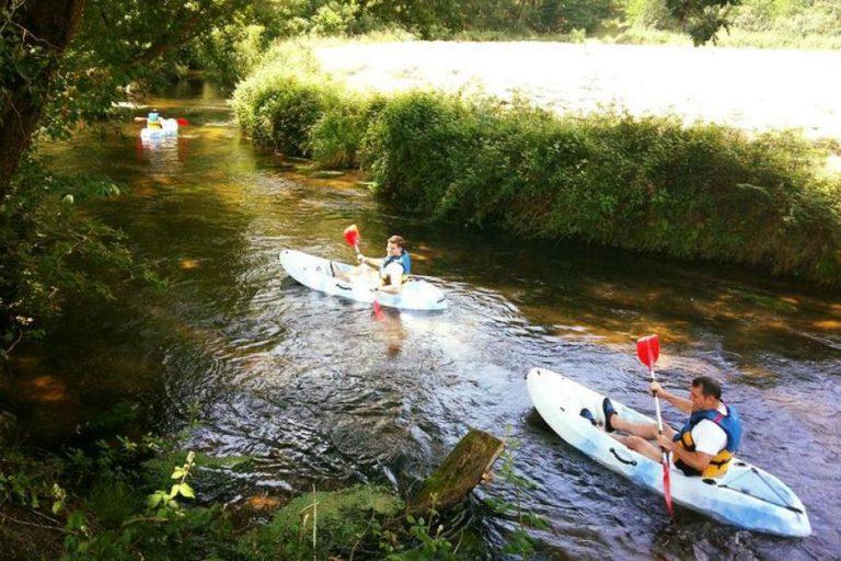 kayaking near Abjat